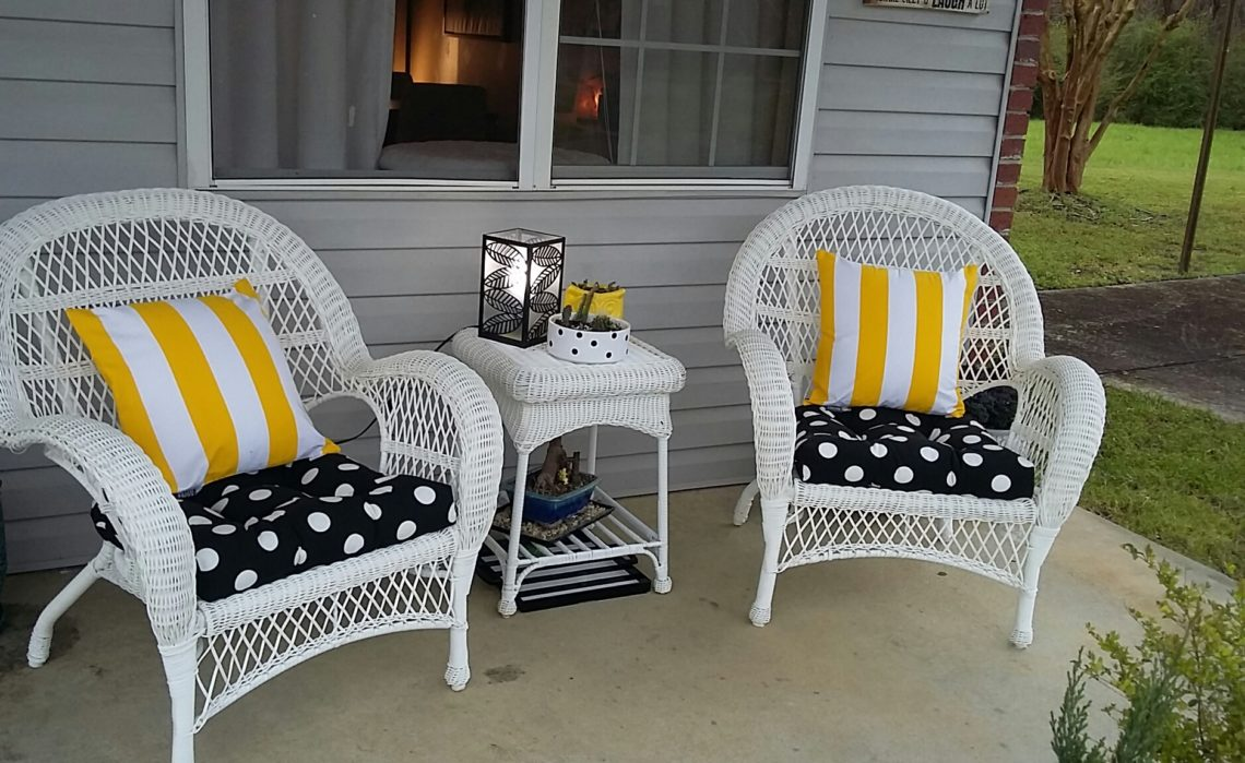 Lemonade Sipping Time on my Front Porch