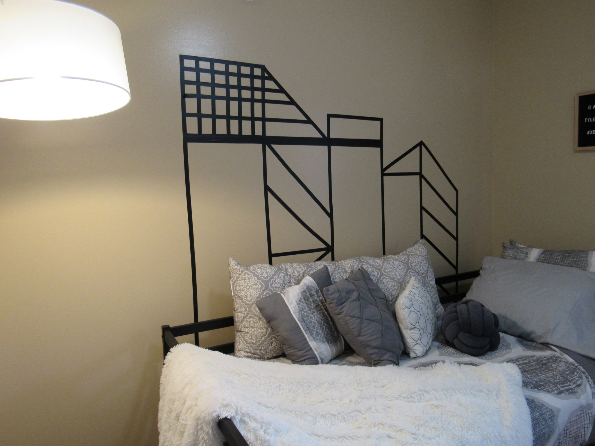 D.I.Y. Wall Mural For Teen Boys Bedroom