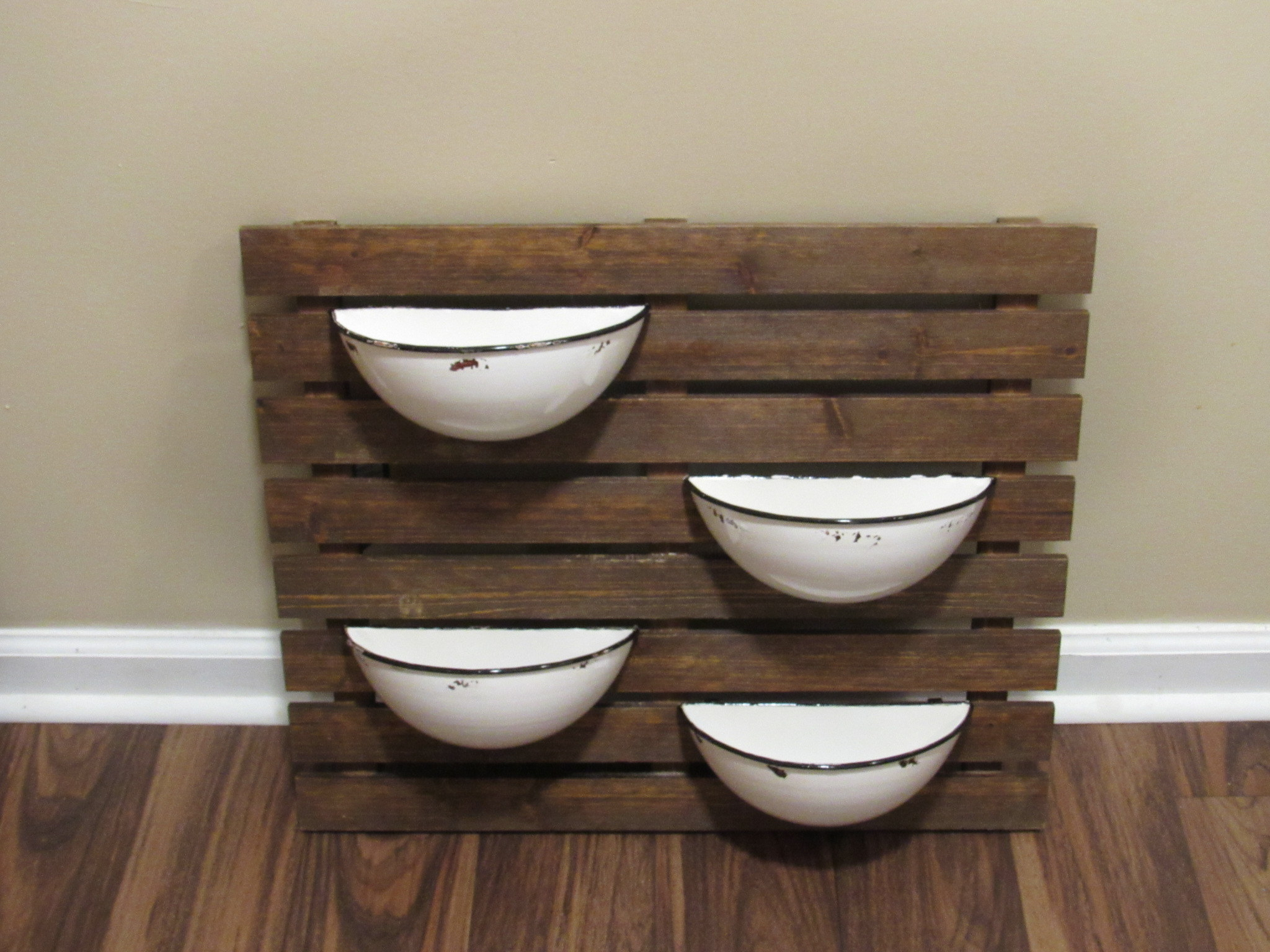 Herb Garden Wall Planter For My Kitchen