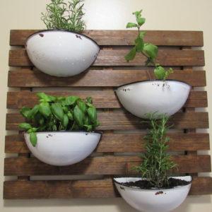 Herb Garden Wall Planter For My Kitchen