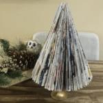 Step By Step Tutorial DIY Magazine Christmas Tree