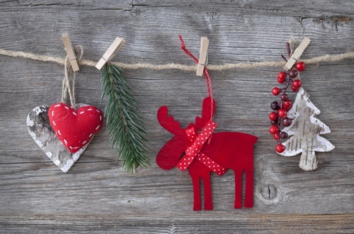 Monthly DIY Christmas Ornaments and Decorations